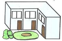 タウンハウスとテラスハウスの違い