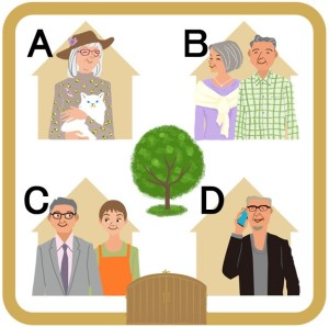 定年後の高齢者や卒婚女性や独身女性の住み方プラン例