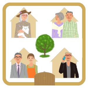 リンクハウスシニアや高齢者向けの平屋住宅など