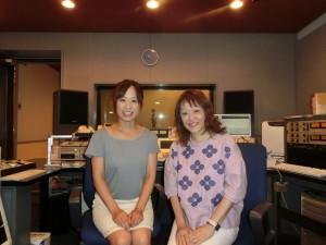 井形慶子氏とインターステーション手嶋照沙のラジオ収録