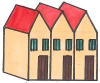 テラスハウスとタウンハウスの違い